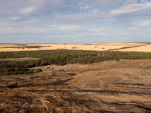 Ansicht des Wheatbelt, nahe Hyden, West-Australien Stockbild