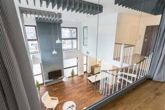 Ansicht des Wohnzimmers Lizenzfreies Stockfoto