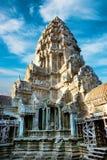 Ansicht des zweiten Stocks von Angkor Wat Tempel in Kambodscha Lizenzfreie Stockfotos