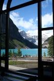Ansicht durch ein Fenster Lizenzfreie Stockbilder