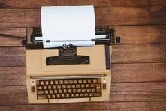 Ansicht einer alten Schreibmaschine Lizenzfreie Stockfotografie