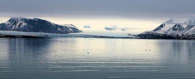 Ansicht einer arktischen Landschaft Stockfotos