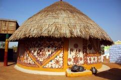 Ansicht einer Hütte. Stockfoto