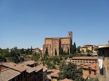 Ansicht einer kleinen Stadt in Italien Lizenzfreie Stockfotos