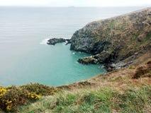 Ansicht einer Klippe in Irland Lizenzfreies Stockfoto