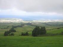 Ansicht einer Landschaft bei den Azoren Lizenzfreie Stockfotos
