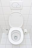 Ansicht einer Toilette Stockfotografie