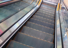 Aufzugs-Treppe Stockfotografie