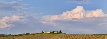 Ansicht eines Bauernhauses Lizenzfreies Stockfoto