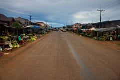 Ansicht eines Dorfs Paksong Lizenzfreie Stockfotografie
