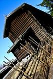 Ansicht eines Hauses von der Außenseite Stockbild