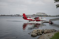 Ansicht eines Seeflugzeugs lizenzfreie stockfotos