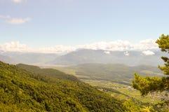 Ansicht eines Tales in Alto Adige Lizenzfreie Stockbilder
