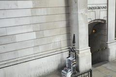 Ansicht eines U-Bahnhofs lizenzfreie stockfotos