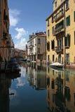 Ansicht eines Venedig-Kanals Lizenzfreie Stockfotos