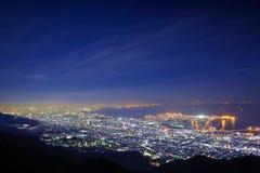 Kansai-Skyline Lizenzfreie Stockbilder