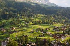 Ansicht fom der ERSTE Berg stockfotografie
