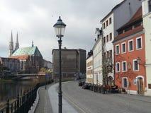 Ansicht in Goerlitz Lizenzfreies Stockbild