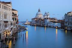 Ansicht Grand Canal s, Venedig, Italien Lizenzfreie Stockfotografie