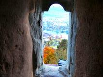 Ansicht grom das Fenster Stockfotos