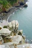 Ansicht heraus zum Meer Lizenzfreie Stockbilder