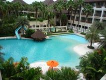 Ansicht-Hotel Lizenzfreies Stockbild
