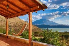 Ansicht in Ibarra Ecuador Stockbild