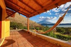 Ansicht in Ibarra Ecuador Stockfoto