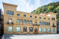 Ansicht im Freien des Museums von San Telmo in San Sebastián Stockfotos