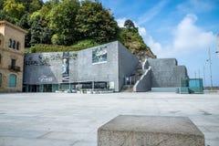 Ansicht im Freien des Museums von San Telmo in San Sebastián Stockfoto