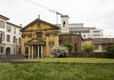 Ansicht im Freien von Santa Maria Podone-Kirche Stockfoto
