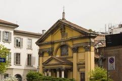 Ansicht im Freien von Santa Maria Podone-Kirche in Mailand Lizenzfreies Stockfoto