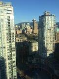 Ansicht im Stadtzentrum gelegener Vancouver-Stadt! Stockfotografie