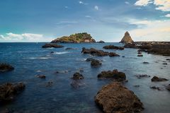 Ansicht Isola Lachea Lizenzfreie Stockbilder
