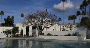 Ansicht 4K UltraHD des Scottsdale, Arizona Rathaus stock footage