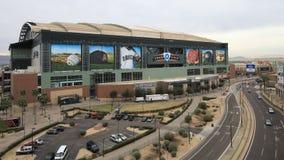 Ansicht 4K UltraHD Timelapse des Verfolgungs-Feldes in Phoenix stock video footage