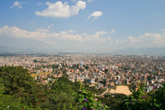 Ansicht Katmandu Stockbild