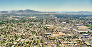 Ansicht Las Vegass Nevada - Aereal Stockbilder