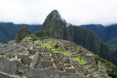Ansicht Machu Picchu, Peru Stockfotografie