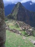 Ansicht Machu Pichu lizenzfreies stockbild