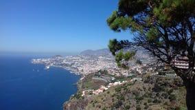 Ansicht Madeiras Portugal stockfoto
