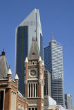 Ansicht am Midtown Perth stockbilder