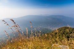 Ansicht misst ab 1200 Höhe Stockbild