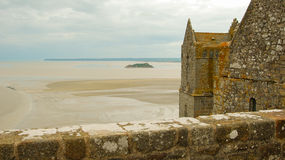 Ansicht Mont Saint Michel Lizenzfreie Stockbilder
