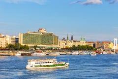 Ansicht nach Budapest am 23. Juli 2014 Lizenzfreie Stockbilder