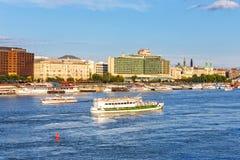 Ansicht nach Budapest am 23. Juli 2014 Lizenzfreie Stockfotos
