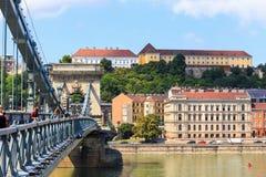 Ansicht nach Budapest am 24. Juli 2014 Stockbild