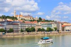 Ansicht nach Budapest am 24. Juli 2014 Lizenzfreies Stockbild
