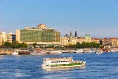 Ansicht nach Budapest am 23. Juli 2014 Stockfoto