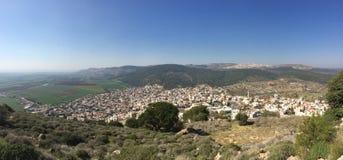Ansicht nach Galiläa israel Lizenzfreie Stockbilder